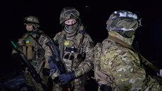 Обмен пленными между ополченцами ДНР, ЛНР и украинскими силовикам