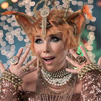 Съемки новогоднего телевизионного мюзикла Три богатыря