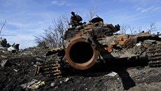 Ситуация в селе Никишино Донецкой области