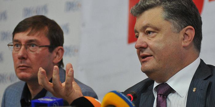 Пресс-конференция Петра Порошенко во Львове