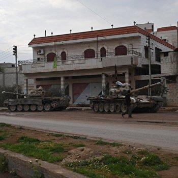 Ситуация на севере провинции Хама
