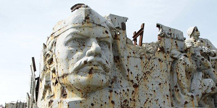 Празднование Дня освобождения Донбасса от немецко-фашистских захватчиков