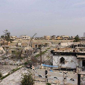 Сирийские войска взяли под свой контроль город Дейр-Хафир