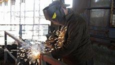 Юзовский металлургический завод в Донецке