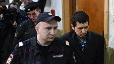Рассмотрение ходатайства следствия об аресте А.Азимова в Басманном суде