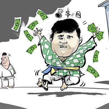 карикатура Насиров Роман