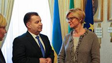 министры обороны Италии и Украины