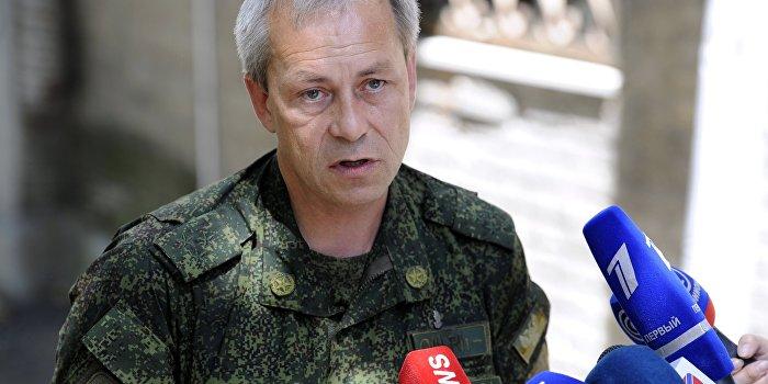 Заместитель командующего штабом ополчения Донецкой народной республики Эдуард Басурин