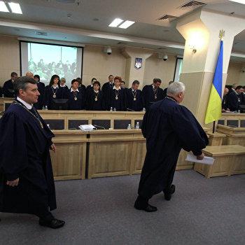 Заседание по иску Юлии Тимошенко в Высшем административном суде Украины (ВАСУ)