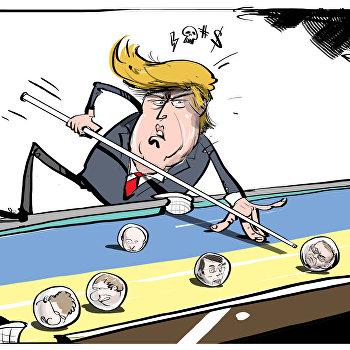Карикатура Трамп