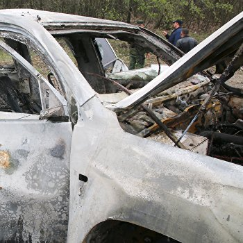 Сотрудник ОБСЕ погиб при подрыве автомобиля в Луганской области