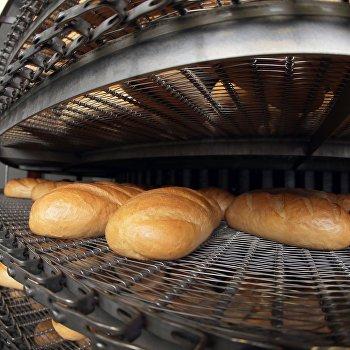 Производство хлебобулочных изделий на хлебозаводе Экспохлеб