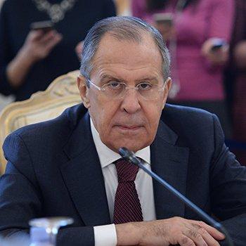 Встреча глав МИД РФ и Саудовской Аравии С. Лаврова и А. Аль-Джубейра