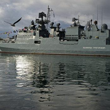 Празднование 320-й годовщины ВМФ в Севастополе
