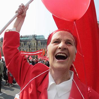 Празднование 1 мая в Киеве