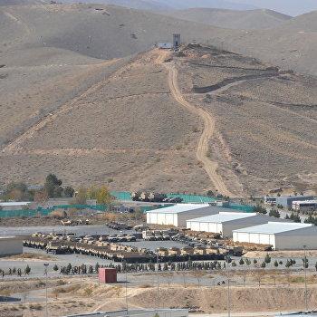 Военная база НАТО в Кабуле