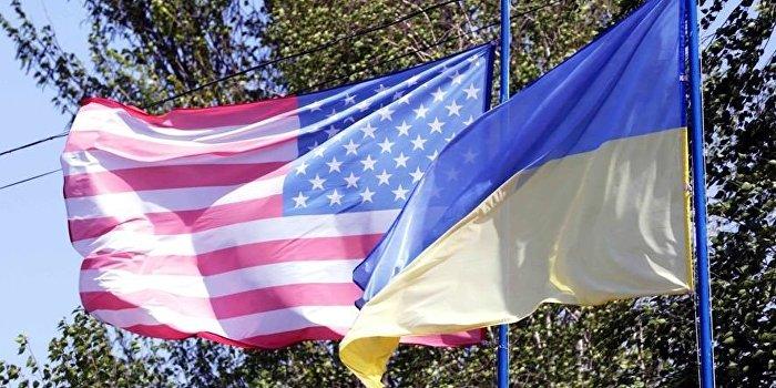 Флаги Украина США