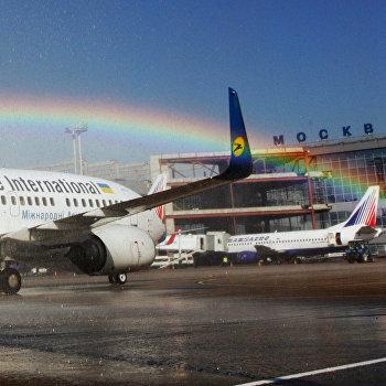 Боинг-737 авиакомпании Ukraine International