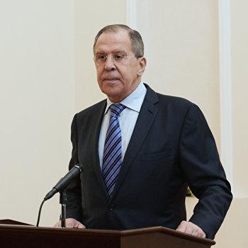 Визит главы МИД РФ С. Лаврова в Абхазию. День второй