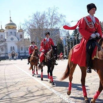 Церемония Час славы Кубани в Краснодаре