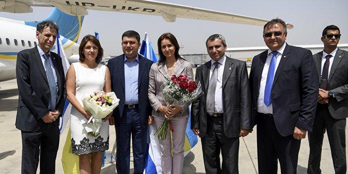 Гройсман в Израиле