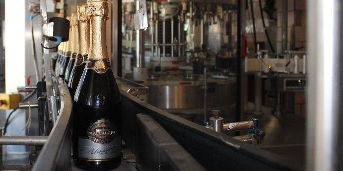 шампанское Массандра
