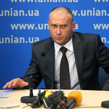 Пресс-конференция кандидата в президента Украины Д.Яроша