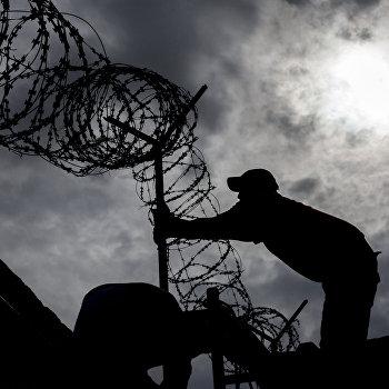 Центр содержания нелегальных мигрантов в Санкт- Петербурге
