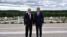 Макрон: Сотрудничество России и Франции по Сирии вышло на новый уровень