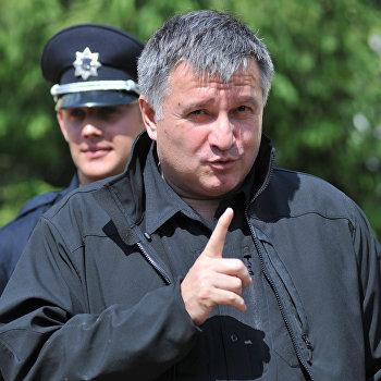 Министр внутренних дел Украины А.Аваков посетил центр подготовки патрульных полицейских во Львове