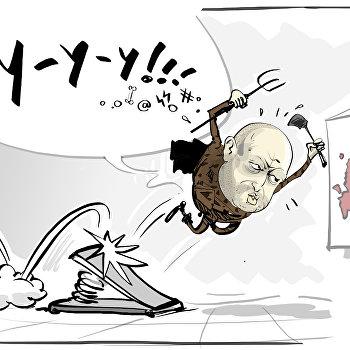 Карикатура Турчинов