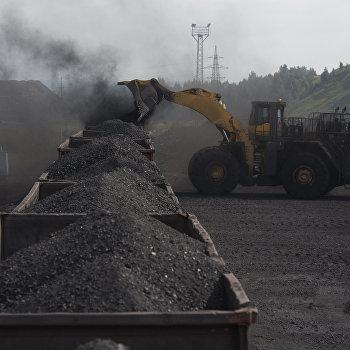 Добыча угля на Бачатском угольном разрезе