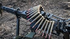 оружие пулемет лента патроны всу
