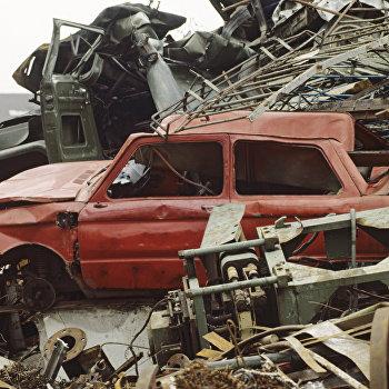 Бесхозные автомобили и другой металлолом
