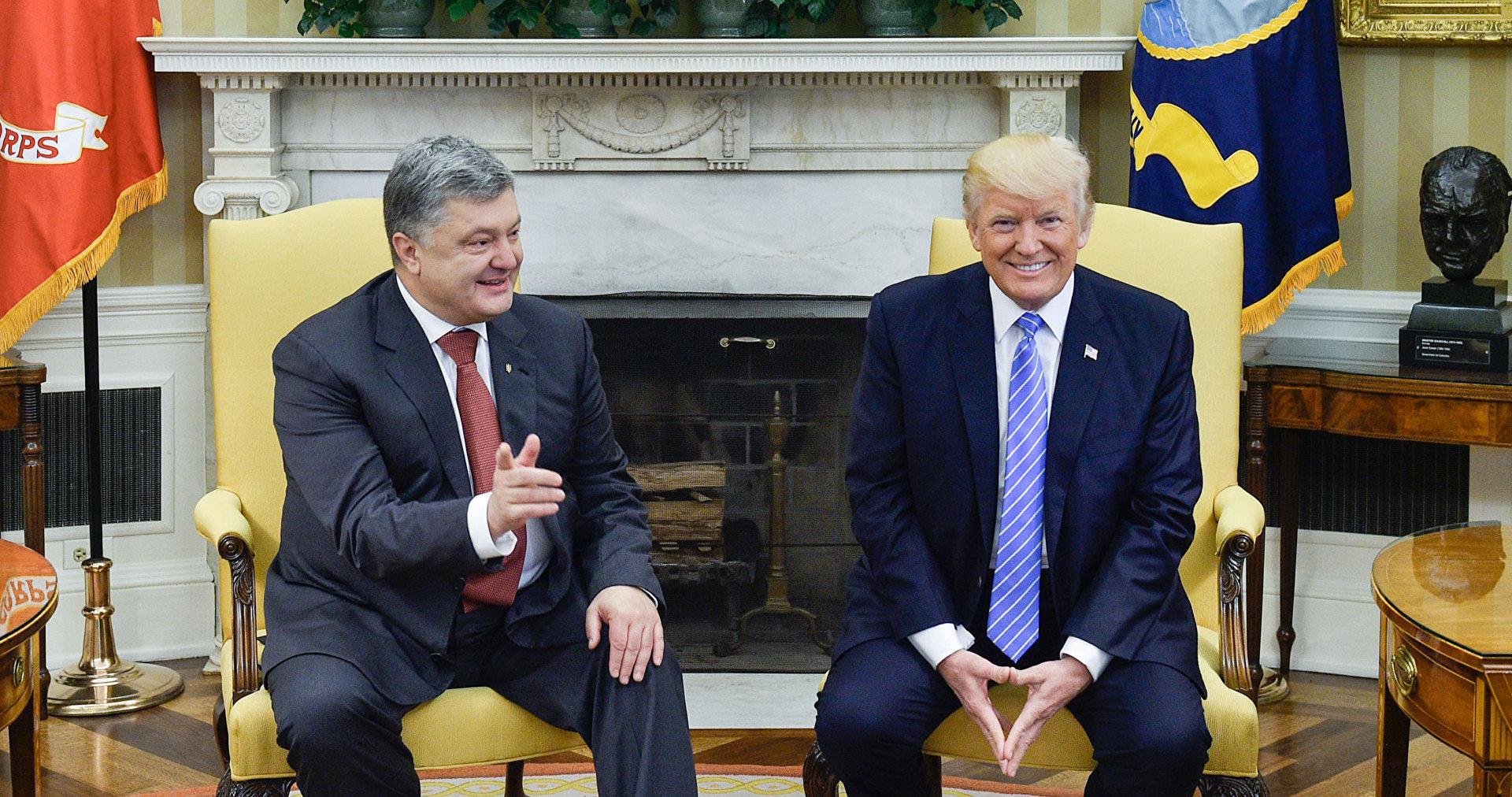 информация товаре когда состоится встреча трампа и порошенко