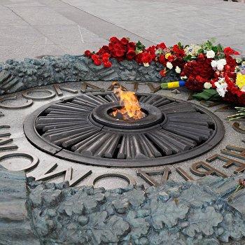 Экс-президенты Украины почтили память жертв войны