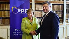 Порошенко Меркель в Брюсселе саммит ес