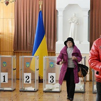 Внеочередные выборы народных депутатов Украины в посольстве Украины в Москве