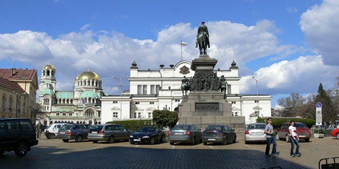 болгария софия парламент флаг