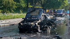 В результате взрыва автомобиля Mercedes в Соломенском районе столицы погиб начальник резерва ГУР Министерства обороны Украины Максим Шаповал