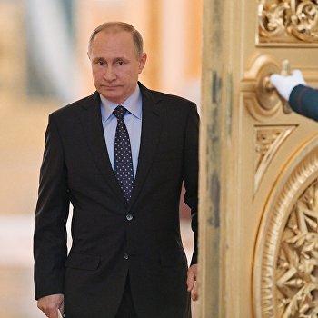 Президент РФ В. Путин провел совместное заседание Госсовета и Комиссии по мониторингу достижения целевых показателей социально-экономического развития страны