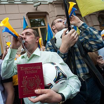 Акция Спаси свой язык в Киеве