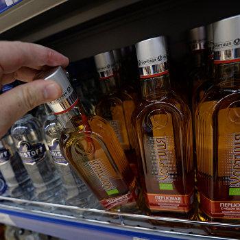 Россия приостановила ввоз алкоголя из Украины