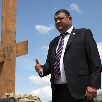 Торжественное открытие и освящение Поклонного креста в Донецкой области