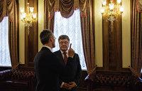 Генсек НАТО: Желания Порошенко недостаточно для вступления Украины в Альянс