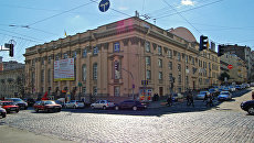 Национальный академический театр русской драмы им. Леси Украинки на Хмельницкого 5