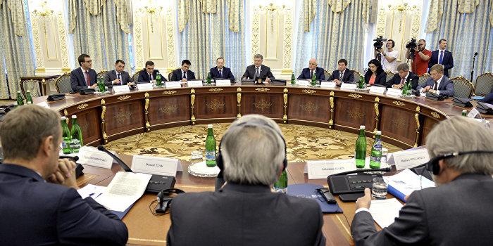 саммит украина-ес порошенко
