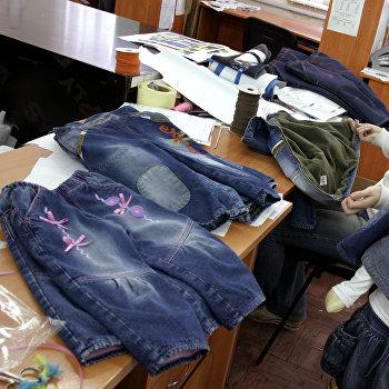 Фабрика по производству джинсовой одежды для детей и молодежи в Ростовской области