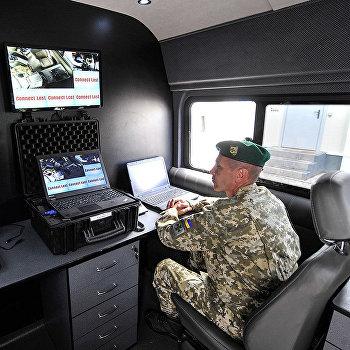 украинская граница пограничник монитор