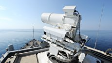 ВМС США лазер LaWS Laser Weapons System